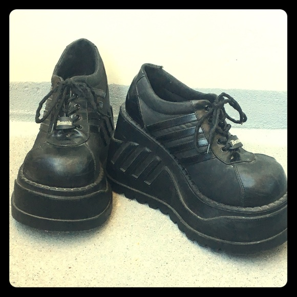 Demonia platform sneakers